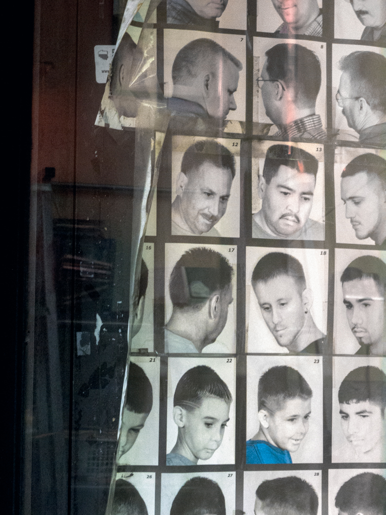 "Barb Choit, ""Barbershop Fade #1,"" 2012, digital c-print, 28 x 21 inches"
