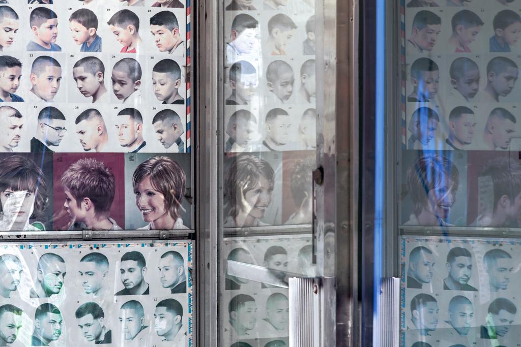 "Barb Choit, ""Barbershop Fade #7,"" 2012, digital c-print, 28 x 42 inches,"