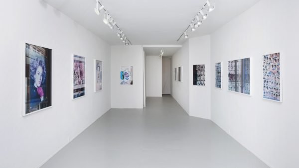 Fade Diary, installation view, Rachel Uffner Gallery, New York, NY